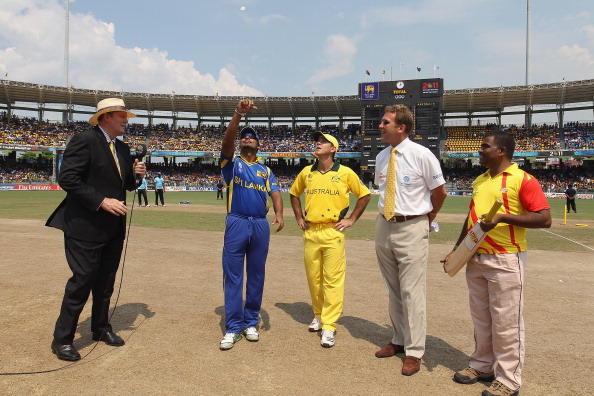 Australia v Sri Lanka: Group A - 2011 ICC World Cup