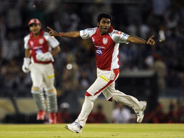 Kings XI Punjab bowler Parvinder Awana (