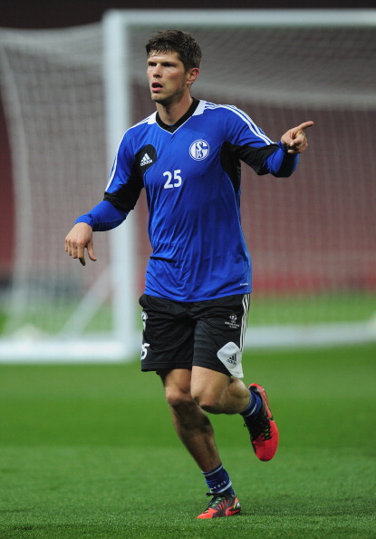 FC Schalke 04 Training Session & Press Conference