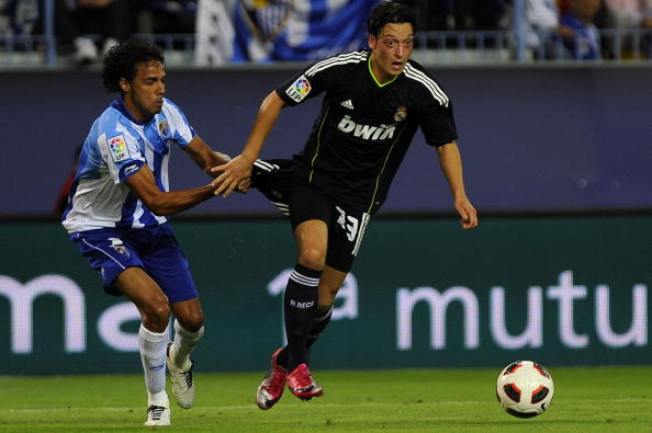 Real Madrid's German midfielder Mesut Oz