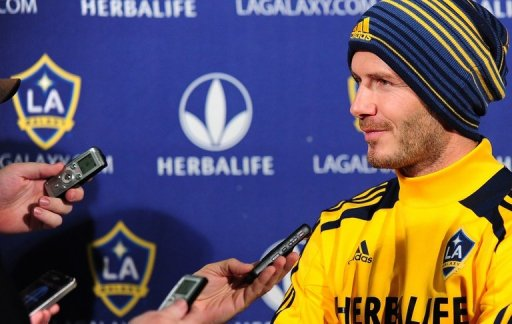David Beckham's six-year playing career with Los Angeles will end at the weekend
