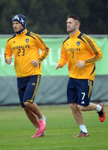 David Beckham and Robbie Keane are two of the biggest stars in the MLS