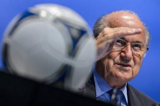 FIFA president Sepp Blatter is pictured in September