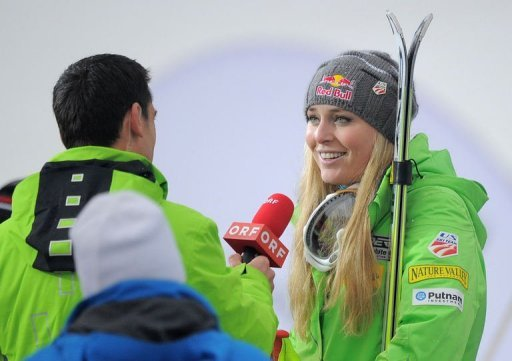 Lindsey Vonn swept all three races last year at Lake Louise