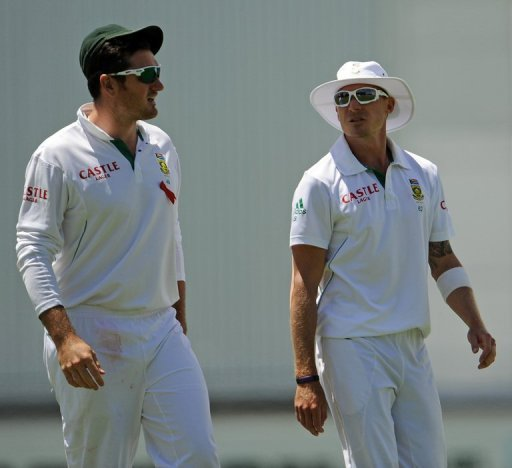 Steyn's four-wicket haul helped decimate the Australian first innings