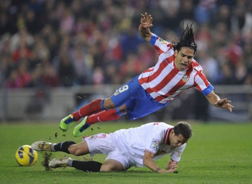 Atletico's fine start to the campaign is partly due to the form of Radamel Falcao