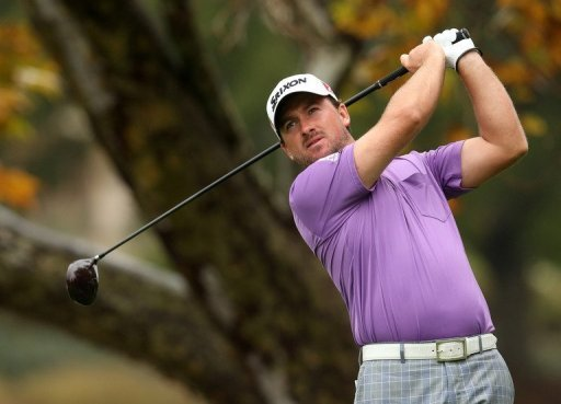 Graeme McDowell had a 54-hole total of 13-under 203 at Sherwood Country Club