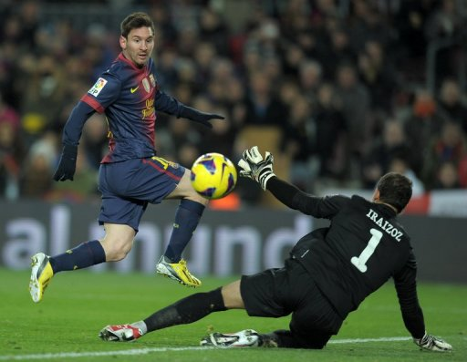 Lionel Messi is now just one goal off Mueller's record of 85 goals in a calendar year