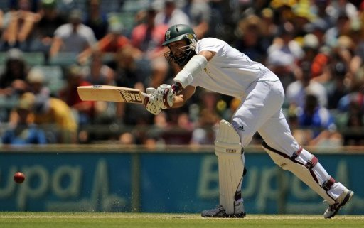 It was Hashim Amla's 18th Test century and he faced 221 balls, hitting 21 boundaries