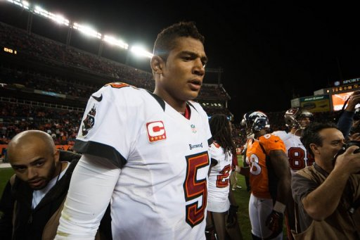 Quarterback Josh Freeman went 18-for-39 with 242 yards, two touchdowns and an interception for the Buccaneers