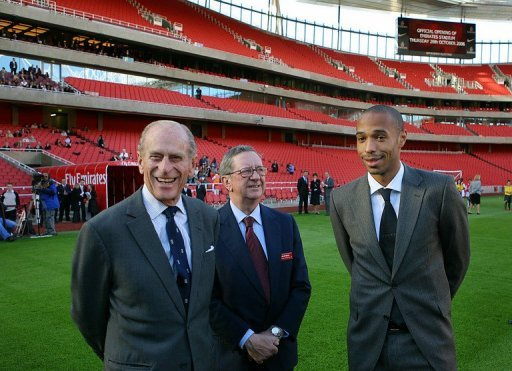 Hill-Wood is the third member from his family to assume the role of Arsenal chairman
