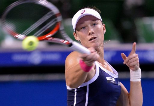 The 28-year-old Stosur is currently ranked ninth in the WTA standings