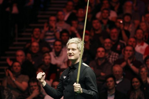 Australia's 2010 world snooker champion Neil Robertson, pictured in January 2012