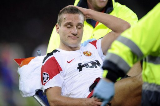 Vidic's absence is a setback and comes at a time when United's defensive performances have been criticised