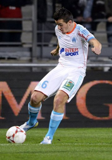Barton has picked up just two yellow cards in eight matches for Marseille