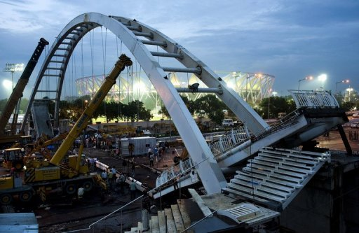 The 2010 Commonwealth Games in India were hit by venue delays, shoddy construction and budget overruns