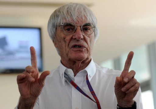 Formula One chief Bernie Ecclestone