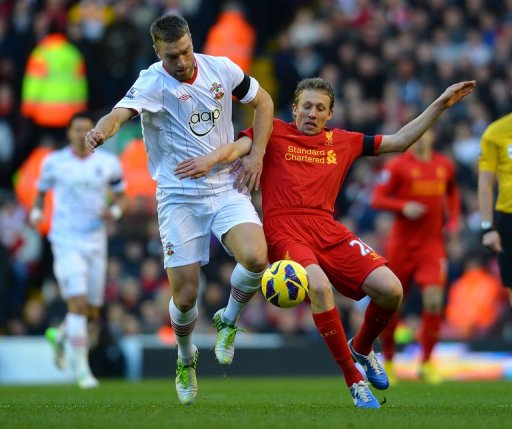 Lucas Leiva's return from injury has boosted Liverpool's thin squad