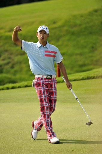 Guan Tianlang, 14, plans to use the Australian experience as preparation for his appearance at the US Masters in April