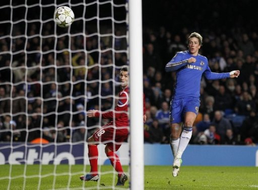 Fernando Torres scored twice in the demolition of FC Nordsjaelland