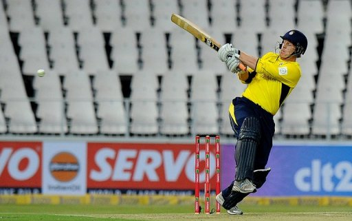 Glenn Maxwell, seen playing in the Champions League T20 last month,  cracked 91