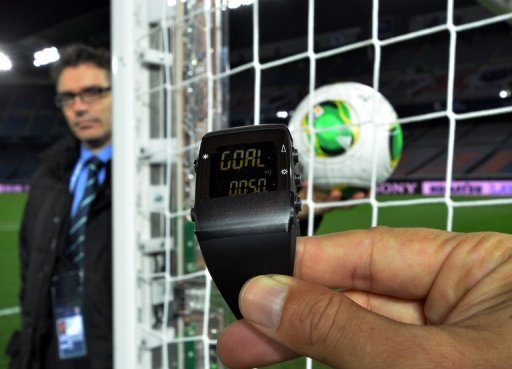 FIFA made football history by trialling the first of two goal-line systems to be used at the showpiece event