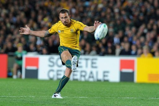Quade Cooper has re-signed with the Wallabies through to the end of 2014