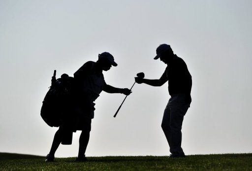 Tensions between two caddies at the Australian Open boiled over in front of other players and spectators