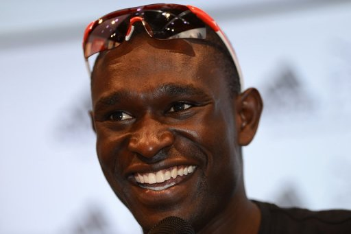 It is the second time in two years that David Rudisha has been named Kenya's best male athlete