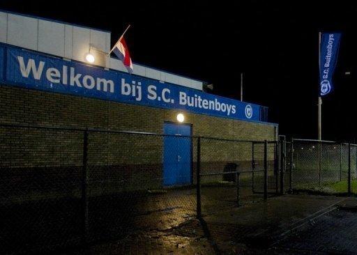 Linesman Richard Nieuwenhuizen, of the Buitenboys club in Almere, was beaten to death