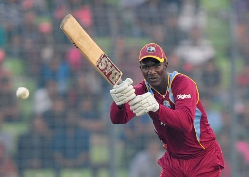 West Indies captain Darren Sammy remained unbeaten with a 62-ball 60