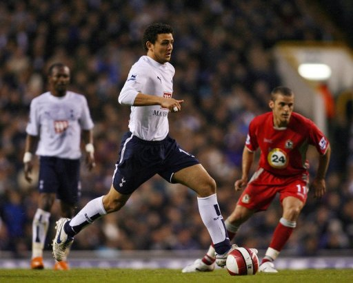 Al Ahly skipper Hossam Ghaly during his days with Spurs in the Premier League. He also had a stint in Dutch football