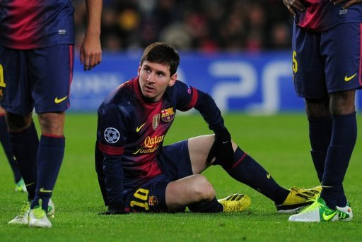 Messi needs just one more goal to draw level with Gerd Mueller's record of 85 goals in a calendar year in 1972.