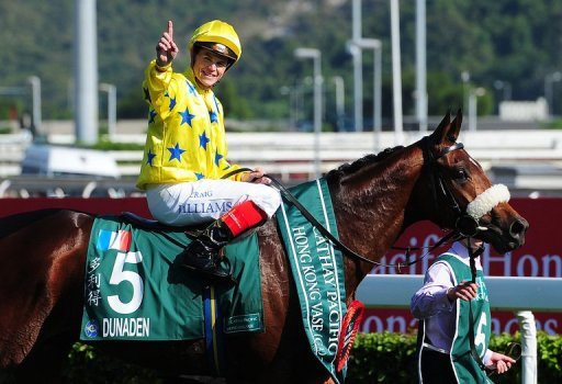 Last year's Hong Kong Vase winner Dunaden will be defending his title after failing to do so at the Melbourne Cup
