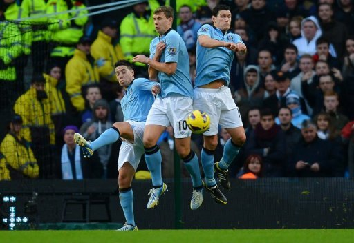 City had not been beaten at home in the league since December 2010
