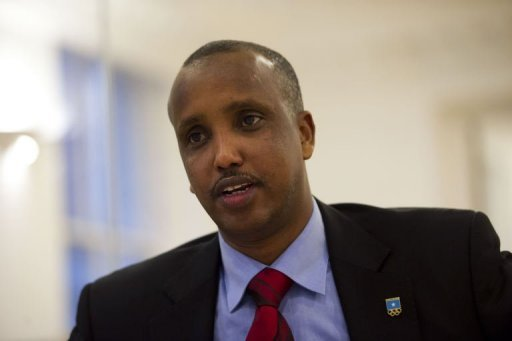 Somalia's acting National Olympic Committee chief Duran Farah's predecessor in the job was killed by a suicide bomber