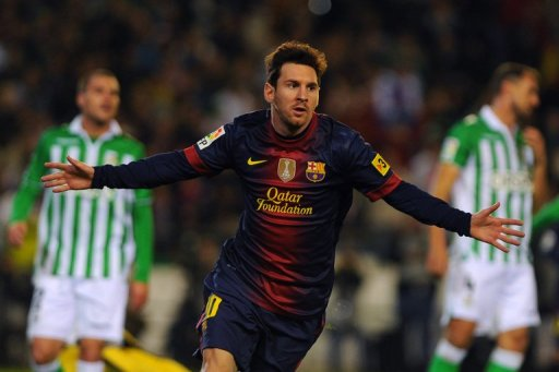 Lionel Messi wrote his name into the history books by overhauling Gerd Mueller's 1972 record of 85 goals in a year