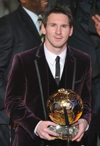 Lionel Messi is in line to win a record fourth successive Ballon d'Or
