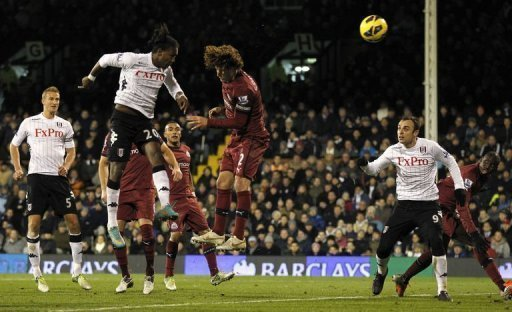 Hugo Rodallega's thumping second-half header saw off Newcastle at Craven Cottage