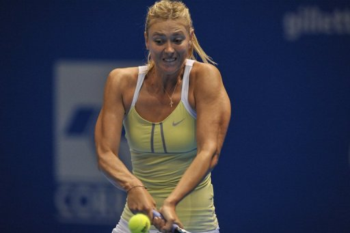 Maria Sharapova, 25, remains the biggest draw in women's tennis