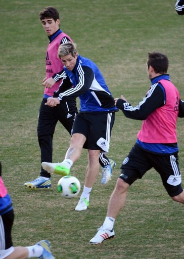 The much-maligned Torres has struggled for goals since his big-money move from Liverpool two years ago