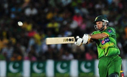 Afridi has endured a dreadful run of form, scoring just 85 runs in his last 10 ODI innings
