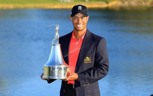 Tiger's win at Bay Hill on March 25 brought him his first US PGA Tour title in more than two years