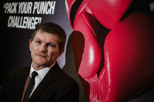 Hatton insisted that he had laid his demons to rest despite defeat to Vyacheslav Senchenko in November