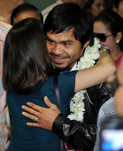Manny Pacquiao remains a sporting icon in the Philippines despite a second defeat on the trot