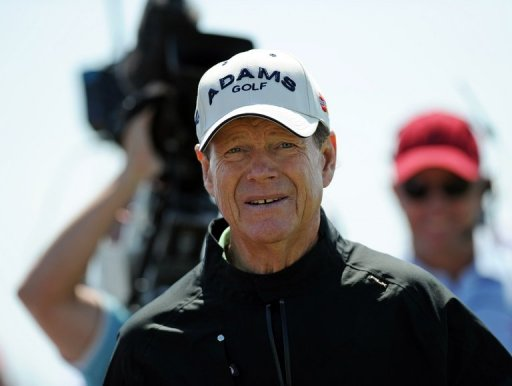 Eight time major champion Tom Watson, pictured on December 6, 2012
