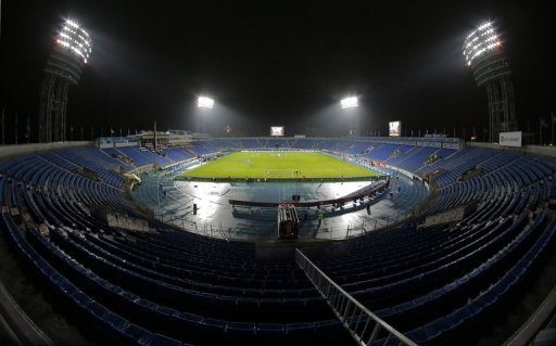 The Petrovsky stadium in St.Petersburg, Russia on November 26, 2012.