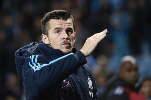 Marseille's British mildfielder Joey Barton, pictured in Marseille, on November 25, 2012