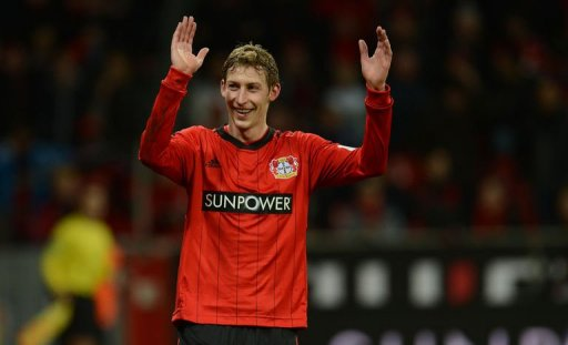 Kiessling, pictured December 15, 2012, opened the scoring on 26 minutes