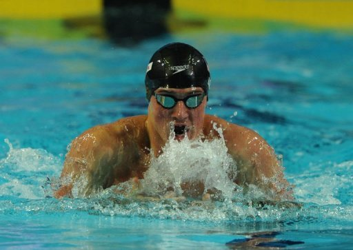 Ryan Lochte competes in the 100m medley final during the Short Course Swimming World Championships on December 16, 2012